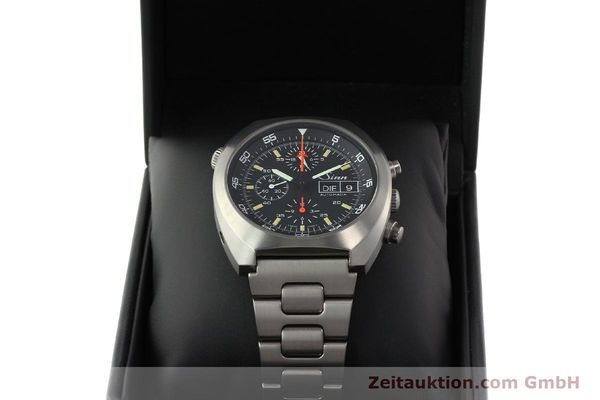 Used luxury watch Sinn D1 Mission chronograph titanium automatic Kal. 5100 Ref. 140/42  | 142626 07