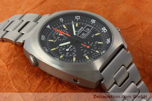 Used luxury watch Sinn D1 Mission chronograph titanium automatic Kal. 5100 Ref. 140/42  | 142626 14