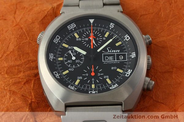 Used luxury watch Sinn D1 Mission chronograph titanium automatic Kal. 5100 Ref. 140/42  | 142626 15