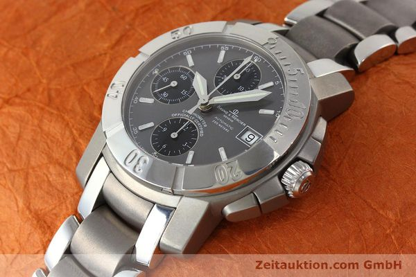 Used luxury watch Baume & Mercier Capeland chronograph steel / titanium automatic Kal. ETA 7750 Ref. 65390  | 142630 01