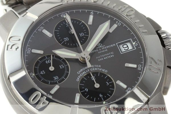 Used luxury watch Baume & Mercier Capeland chronograph steel / titanium automatic Kal. ETA 7750 Ref. 65390  | 142630 02