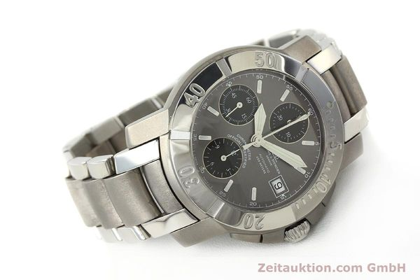 Used luxury watch Baume & Mercier Capeland chronograph steel / titanium automatic Kal. ETA 7750 Ref. 65390  | 142630 03