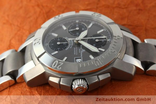 Used luxury watch Baume & Mercier Capeland chronograph steel / titanium automatic Kal. ETA 7750 Ref. 65390  | 142630 05