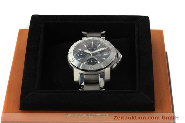 Used luxury watch Baume & Mercier Capeland chronograph steel / titanium automatic Kal. ETA 7750 Ref. 65390  | 142630 07