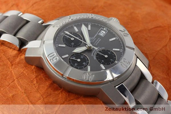 Used luxury watch Baume & Mercier Capeland chronograph steel / titanium automatic Kal. ETA 7750 Ref. 65390  | 142630 16