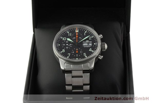 Used luxury watch Fortis Cosmonauts Chronograph chronograph steel automatic Kal. ETA 7750 Ref. 597.10.141  | 142633 07