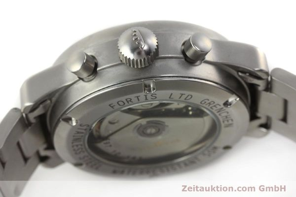 Used luxury watch Fortis Cosmonauts Chronograph chronograph steel automatic Kal. ETA 7750 Ref. 597.10.141  | 142633 08