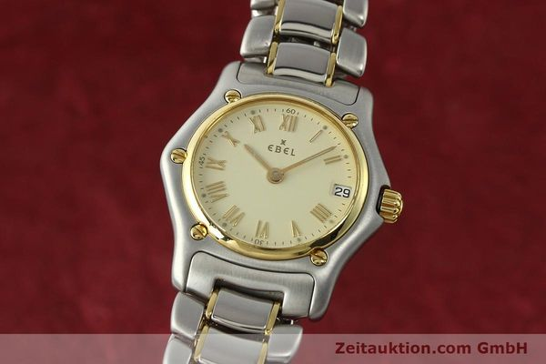 Used luxury watch Ebel 1911 steel / gold quartz Kal. 688 Ref. 188901  | 142634 04
