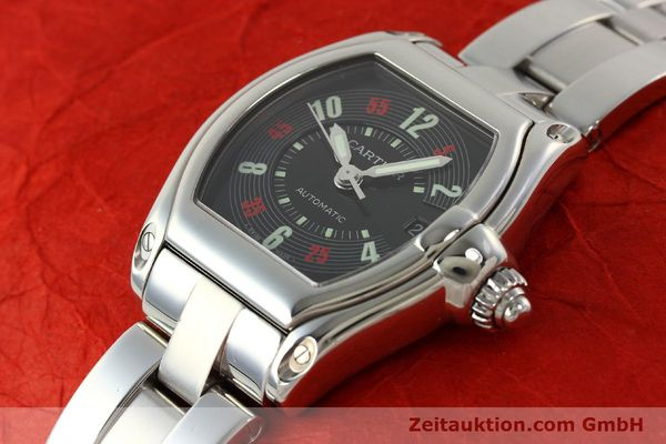 Used luxury watch Cartier Roadster steel automatic Kal. ETA 2829-A2 3110 Ref. 2510  | 142639 01