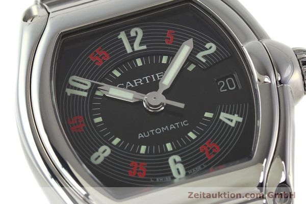 Used luxury watch Cartier Roadster steel automatic Kal. ETA 2829-A2 3110 Ref. 2510  | 142639 02