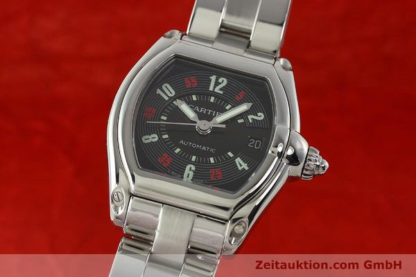 Used luxury watch Cartier Roadster steel automatic Kal. ETA 2829-A2 3110 Ref. 2510  | 142639 04