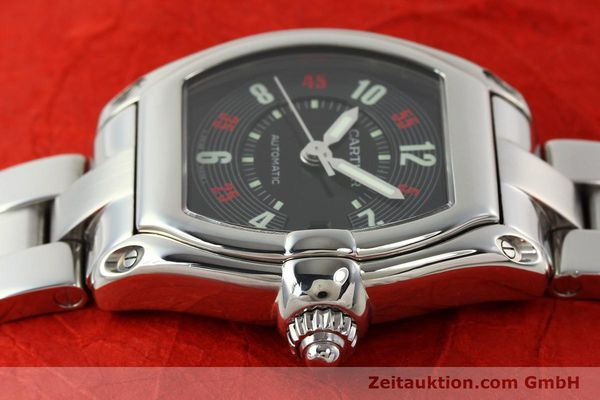 Used luxury watch Cartier Roadster steel automatic Kal. ETA 2829-A2 3110 Ref. 2510  | 142639 05