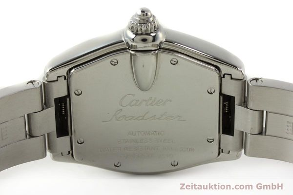 Used luxury watch Cartier Roadster steel automatic Kal. ETA 2829-A2 3110 Ref. 2510  | 142639 09
