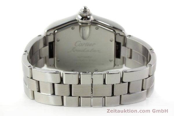 Used luxury watch Cartier Roadster steel automatic Kal. ETA 2829-A2 3110 Ref. 2510  | 142639 11