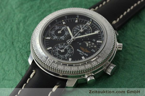 Used luxury watch Breitling Astromat chronograph steel automatic Kal. B19 ETA 2892-2 Ref. D19405  | 142640 01