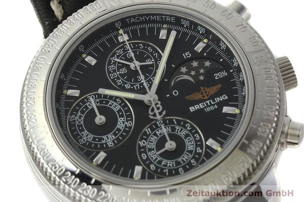 Used luxury watch Breitling Astromat chronograph steel automatic Kal. B19 ETA 2892-2 Ref. D19405  | 142640 02