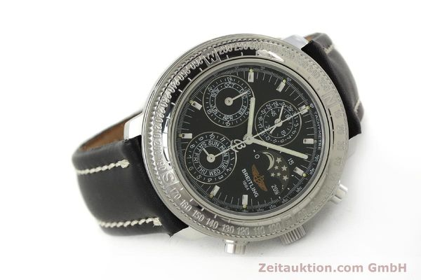 Used luxury watch Breitling Astromat chronograph steel automatic Kal. B19 ETA 2892-2 Ref. D19405  | 142640 03