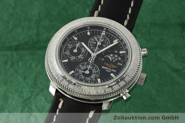 Used luxury watch Breitling Astromat chronograph steel automatic Kal. B19 ETA 2892-2 Ref. D19405  | 142640 04