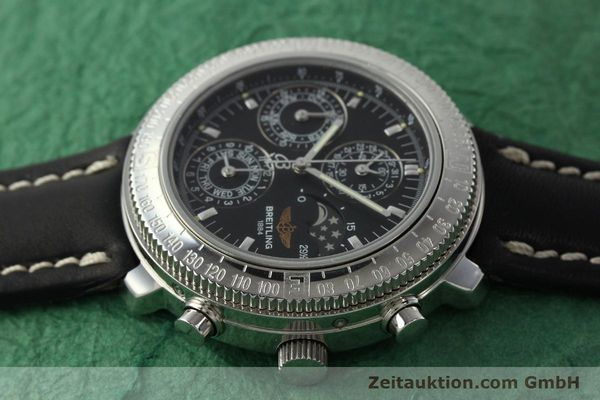 Used luxury watch Breitling Astromat chronograph steel automatic Kal. B19 ETA 2892-2 Ref. D19405  | 142640 05