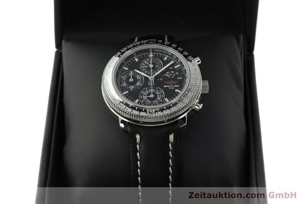 Used luxury watch Breitling Astromat chronograph steel automatic Kal. B19 ETA 2892-2 Ref. D19405  | 142640 07