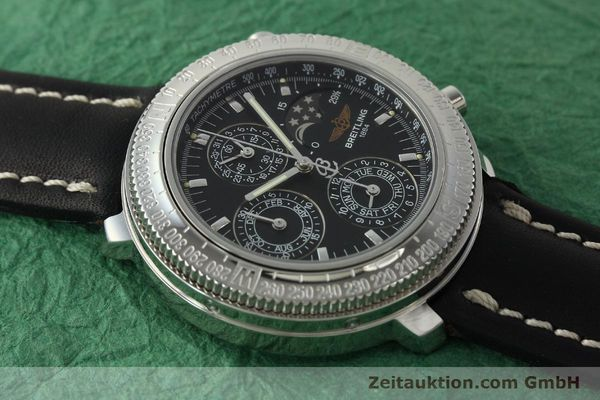 Used luxury watch Breitling Astromat chronograph steel automatic Kal. B19 ETA 2892-2 Ref. D19405  | 142640 12