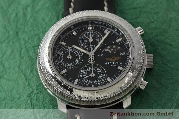 Used luxury watch Breitling Astromat chronograph steel automatic Kal. B19 ETA 2892-2 Ref. D19405  | 142640 13