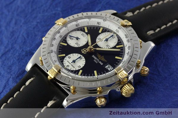 Used luxury watch Breitling Chronomat chronograph steel / gold automatic Kal. B13 ETA 7750 Ref. B13050  | 142641 01