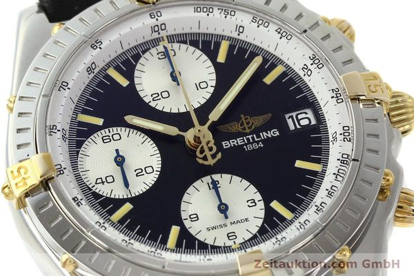 Used luxury watch Breitling Chronomat chronograph steel / gold automatic Kal. B13 ETA 7750 Ref. B13050  | 142641 02