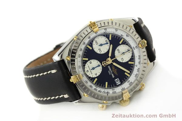 Used luxury watch Breitling Chronomat chronograph steel / gold automatic Kal. B13 ETA 7750 Ref. B13050  | 142641 03