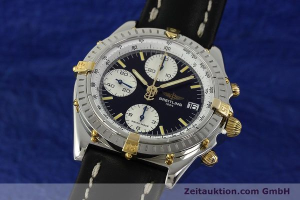 Used luxury watch Breitling Chronomat chronograph steel / gold automatic Kal. B13 ETA 7750 Ref. B13050  | 142641 04