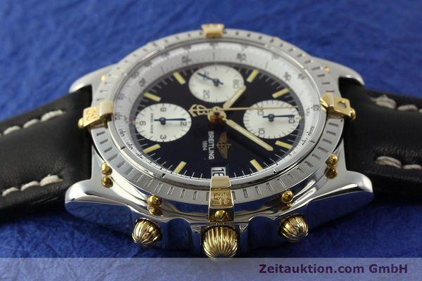 Used luxury watch Breitling Chronomat chronograph steel / gold automatic Kal. B13 ETA 7750 Ref. B13050  | 142641 05