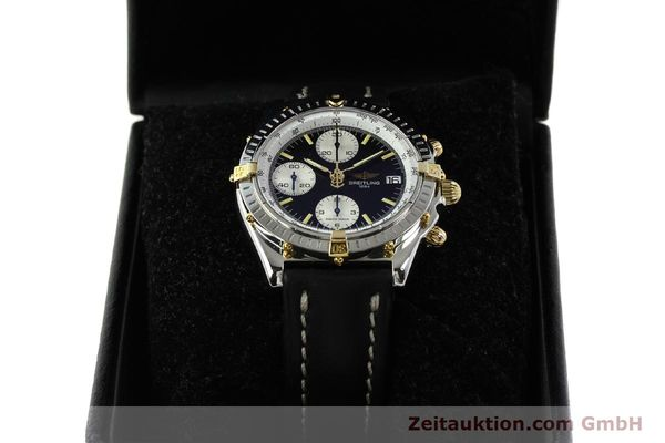 Used luxury watch Breitling Chronomat chronograph steel / gold automatic Kal. B13 ETA 7750 Ref. B13050  | 142641 07