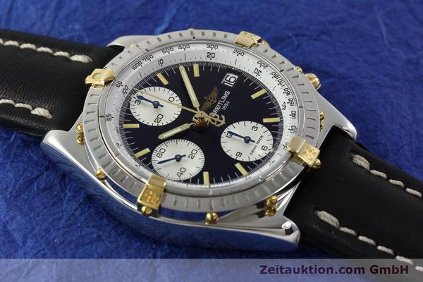 Used luxury watch Breitling Chronomat chronograph steel / gold automatic Kal. B13 ETA 7750 Ref. B13050  | 142641 14