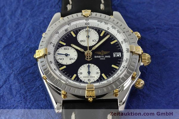 Used luxury watch Breitling Chronomat chronograph steel / gold automatic Kal. B13 ETA 7750 Ref. B13050  | 142641 15