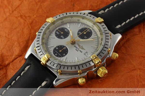Used luxury watch Breitling Chronomat chronograph steel / gold automatic Kal. B13 ETA 7750 Ref. B13048  | 142642 01