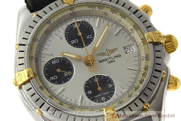 Used luxury watch Breitling Chronomat chronograph steel / gold automatic Kal. B13 ETA 7750 Ref. B13048  | 142642 02