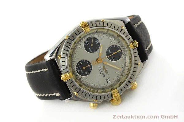 Used luxury watch Breitling Chronomat chronograph steel / gold automatic Kal. B13 ETA 7750 Ref. B13048  | 142642 03