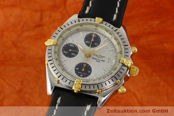 Used luxury watch Breitling Chronomat chronograph steel / gold automatic Kal. B13 ETA 7750 Ref. B13048  | 142642 04