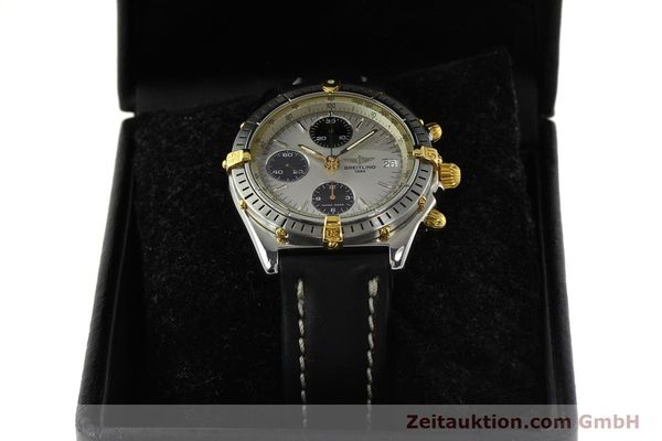 Used luxury watch Breitling Chronomat chronograph steel / gold automatic Kal. B13 ETA 7750 Ref. B13048  | 142642 07