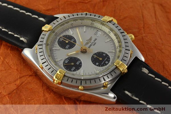 Used luxury watch Breitling Chronomat chronograph steel / gold automatic Kal. B13 ETA 7750 Ref. B13048  | 142642 14