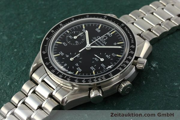 Used luxury watch Omega Speedmaster chronograph steel automatic Kal. 1140 ETA 2890-2  | 142646 01