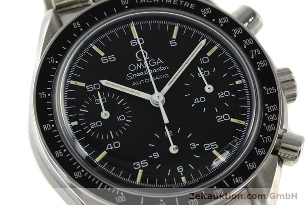 Used luxury watch Omega Speedmaster chronograph steel automatic Kal. 1140 ETA 2890-2  | 142646 02