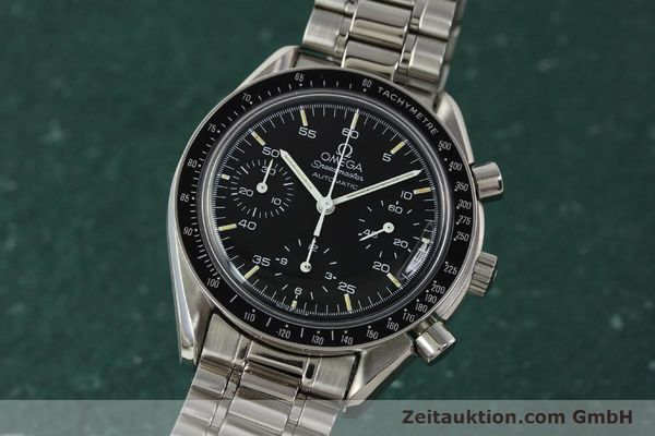 Used luxury watch Omega Speedmaster chronograph steel automatic Kal. 1140 ETA 2890-2  | 142646 04
