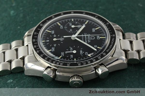 Used luxury watch Omega Speedmaster chronograph steel automatic Kal. 1140 ETA 2890-2  | 142646 05