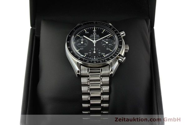 Used luxury watch Omega Speedmaster chronograph steel automatic Kal. 1140 ETA 2890-2  | 142646 07