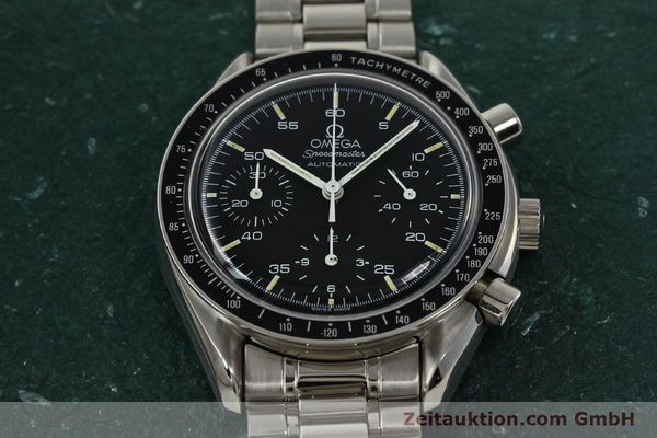 Used luxury watch Omega Speedmaster chronograph steel automatic Kal. 1140 ETA 2890-2  | 142646 15