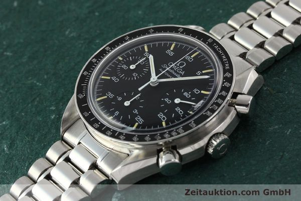 Used luxury watch Omega Speedmaster chronograph steel automatic Kal. 1140 ETA 2890-2  | 142649 01