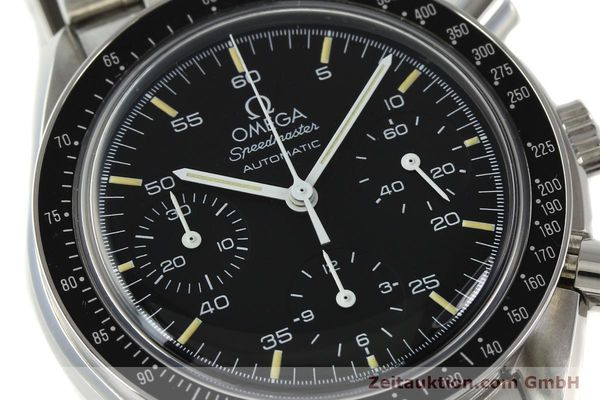 Used luxury watch Omega Speedmaster chronograph steel automatic Kal. 1140 ETA 2890-2  | 142649 02