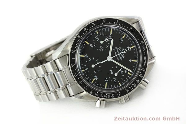 Used luxury watch Omega Speedmaster chronograph steel automatic Kal. 1140 ETA 2890-2  | 142649 03