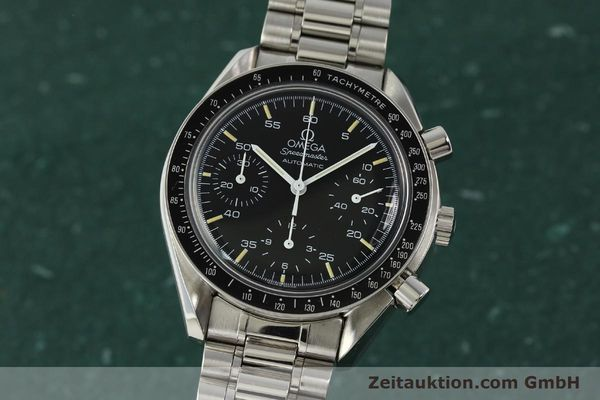Used luxury watch Omega Speedmaster chronograph steel automatic Kal. 1140 ETA 2890-2  | 142649 04
